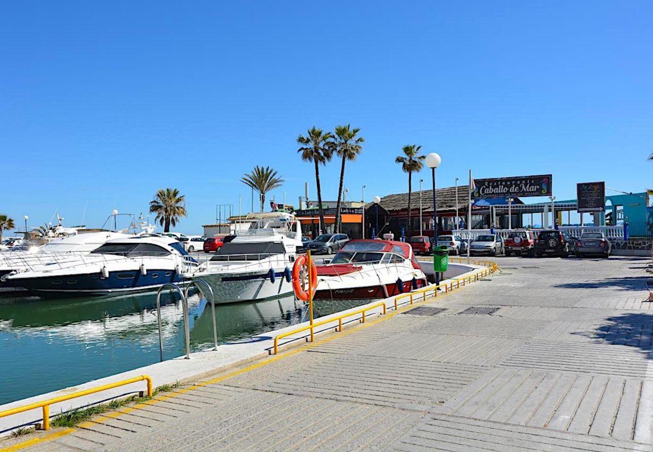 Chalet in Marbella - VILLA CABOPINO Beachfront 12PAX